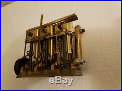 SAITO T3DR Steam Engine Model Boat Collectible Vintage Mechanical Toys