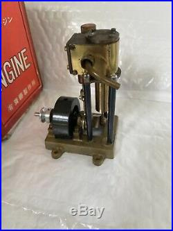 SAITO T-1D Steam engine for model ship marine boat single cylinder WithBOX & PARTS