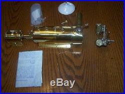 SAITO b-3 Boiler, Burner, and PMR Live Steam Engine