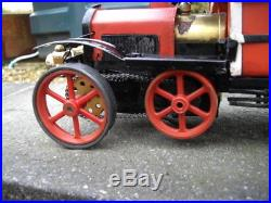 STEAM ENGINE IN VINTAGE TIN Toy Bus. PRICE LOWERED