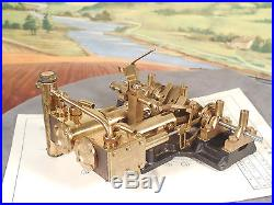 Saito Japan Y2DR BRASS LIVE STEAM ENGINE with ALL PAPERWORK