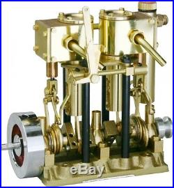 Saito T2DR steam engine for model ships NEW Free Shipping