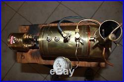 Saito model B2-G BIG steam engine boiler
