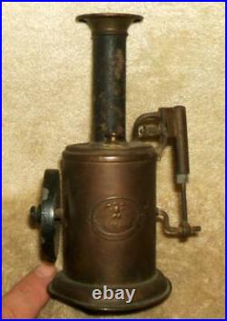 Scarce Circa 1895 Krauss, Mohr & Co. Steam Hot Air Engine