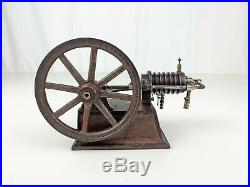 Schoenner German Side Crank Flame Ignition Gas Engine Model Toy Plank Otto steam