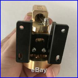 Single Vacillating Cylinder Displacer Steam Engine Motor Toy Live Steam Engine
