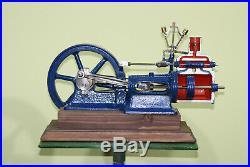 Stationary Antique LARGE steam engine 1960-1980 year. Wilesco Mamod Bing