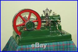 Stationary Antique LARGE steam engine 1965 year. Bio Fiz