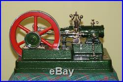 Stationary Antique LARGE steam engine 1971 year. Wilesco Mamod Bing Christmas