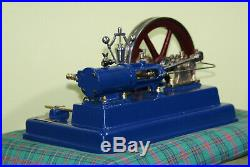 Stationary Antique LARGE steam engine 1975 year. Bio Fiz
