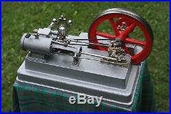 Stationary Antique LARGE steam engine 1978 year. Watt Wilesco Mamod Bing