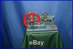 Stationary Working LARGE steam engine 1974 year. Watt Regulator christmas gift