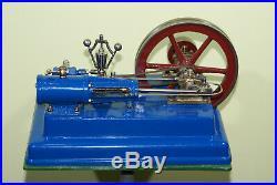 Stationary, working, Antique LARGE steam engine 1955 Dampfmaschine