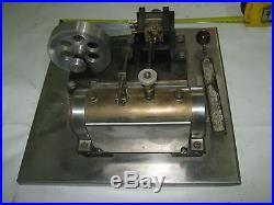 Steam Engine1950's German Custom untested Engineering School Get it Working # 1