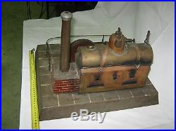 Steam Engine 1900's German Custom untested End of Collection Get it Working # 0
