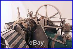 Steam Engine 1913 Burrells Of Thetford Scale Model Traction Engine Operates