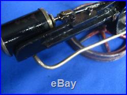 Steam Engine 19th century toy (2) parts original paint! Cast iron