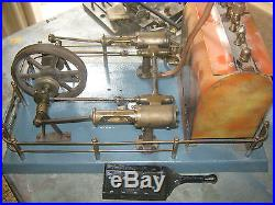 Steam Engine BISCHOFF, Germany see photo. End of collection all going. # 38