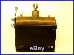 Steam Engine Boiler Large unfinished