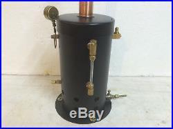 Steam Engine Boiler Vertical