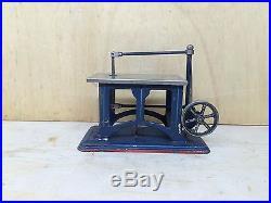 Steam Engine Driven Model Fret Saw Doll
