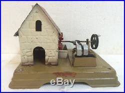 Steam Engine Driven Model Millhouse + Stamper Fleischmann