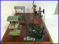 Steam Engine Driven Model Set Up