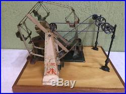Steam Engine Driven Model Set Up