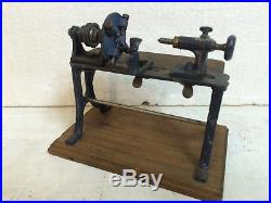 Steam Engine Driven Model Timber Lathe Bing