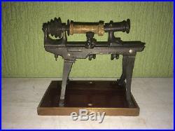 Steam Engine Driven Model Timberlathe