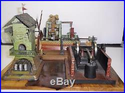 Steam Engine Driven Models