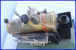 Steam Engine Fleischmann 135 / 2 Tin Toy with Original Box Germany 1950s