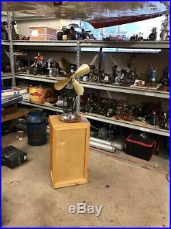 Steam Engine, Hot Air Fan