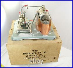 Steam Engine Jensen # 75 Power Plant Boxed