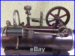 Steam Engine Locomobile G Carette