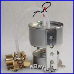 Steam Engine Model Toy with Boiler DIY Micro Marine Model Engine Motor Power Drive