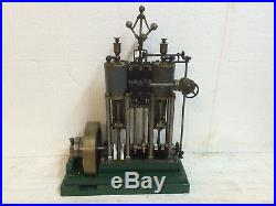 Steam Engine Motor Twin Cylinder