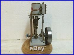Steam Engine Motor Vertical Fleischmann 125/2