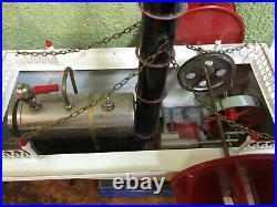 Steam Engine Paddle Wheler Tucher und Walther