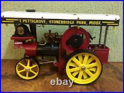 Steam Engine Showmans Engine Wilesco
