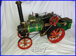 Steam Engine Tractor Traction Live Steam