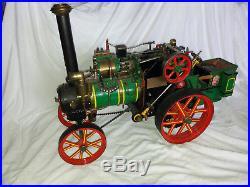 Steam Engine Tractor Traction Live Steam