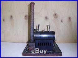 Steam Engine Twin Cylinder Bing