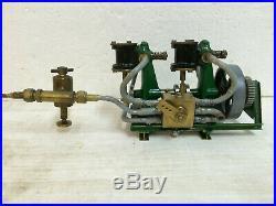 Steam Engine Twin Cylinder Maxwell Hemmens