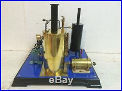 Steam Engine Twin Cylinder Wilesco Video