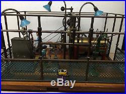 Steam Engine Vintage Blacksmith Workshop
