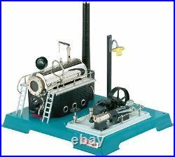 Steam Engine Wilesco D 18 Stationary 00018