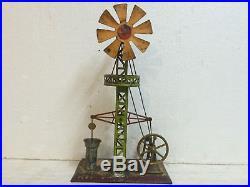Steam Engine driven Model Wind driven Bore Pump