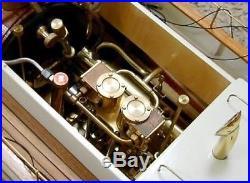 Steam engine T2DR Saito Seisakusho Saito steam engine