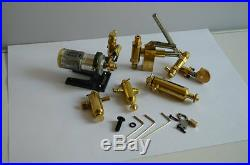 Steam engine accessories (6 sets)